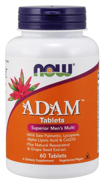 NOW Foods Adam - 60 таблетки