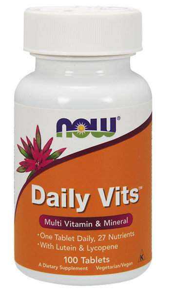 NOW Foods Daily Vits - 100 таблетки