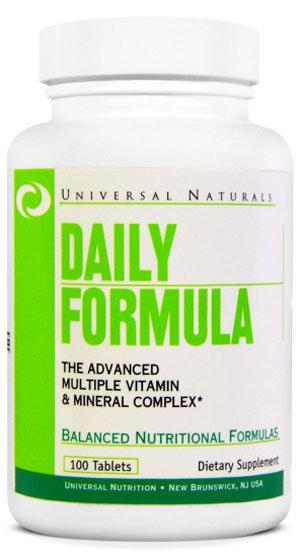 Universal Nutrition Daily Formula - 100 таблетки