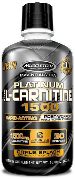 MuscleTech Platinum L-Carnitine 473ml