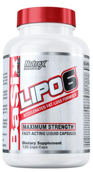 Nutrex Lipo-6 - 120 капсули