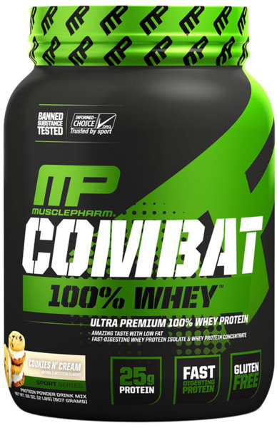 MusclePharm Combat 100% Whey Protein 907g (2lb)
