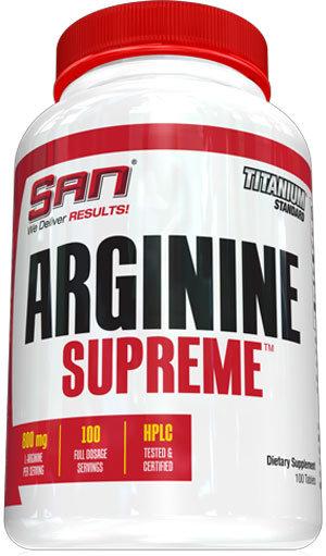 San Arginine Supreme - 100 таблетки