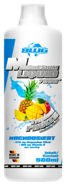 BWG Magnesium Liquid 7500 - 500ml