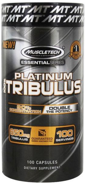 MuscleTech Platinum Tribulus - 100 капсули