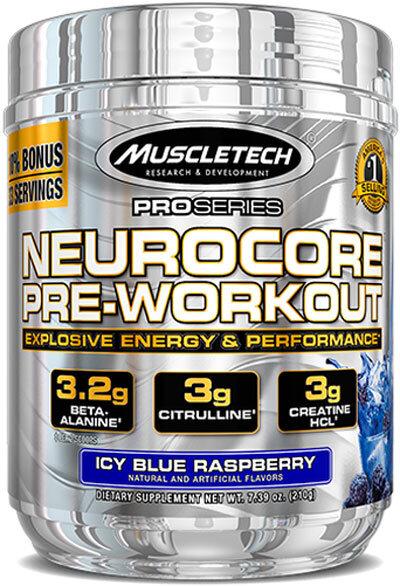 MuscleTech NeuroCore 215g