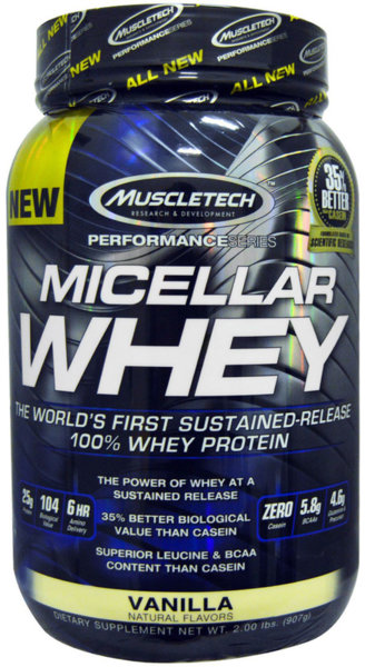 MuscleTech Micellar Whey 907g (2lb)
