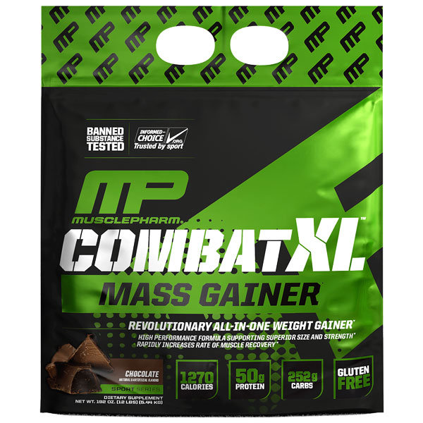 MusclePharm Combat XL Mass Gainer 5.44kg (12lb)