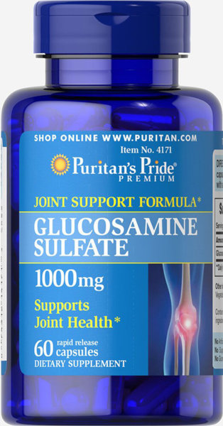 Puritan's Pride Glucosamine Sulfate - 60 капсули
