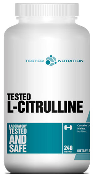 Tested Nutrition L-Citrulline - 240 капсули