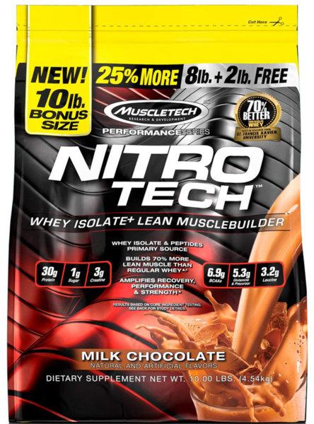 MuscleTech NitroTech 4.54kg (10lb)