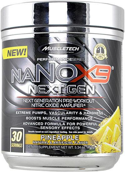 MuscleTech NaNOX9 Next Gen 151g