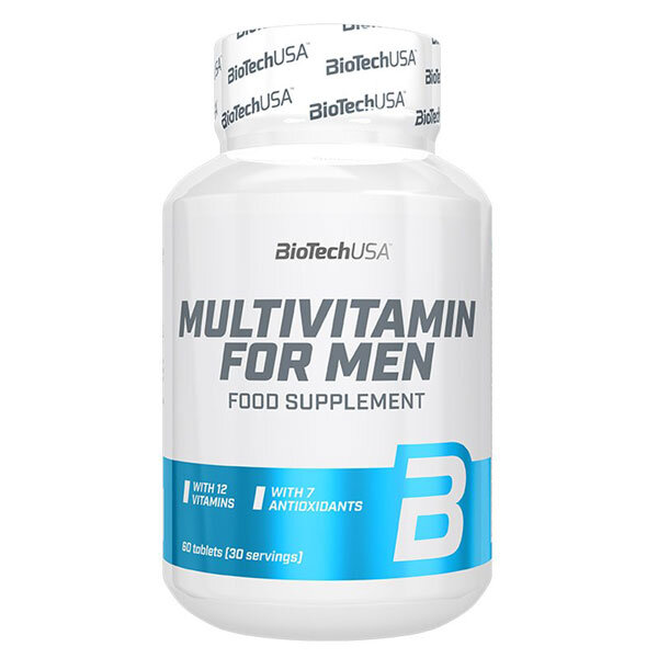 BioTech Multivitamin for Men - 60 таблетки