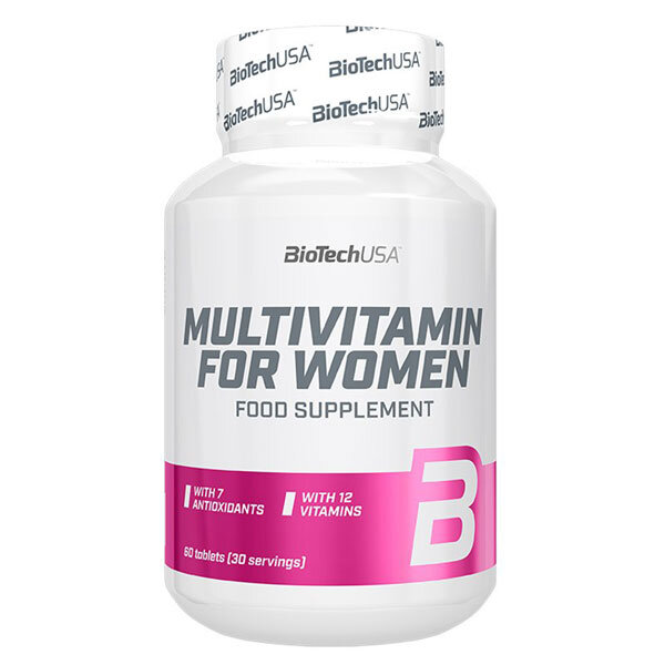 BioTech Multivitamin for Women - 60 таблетки