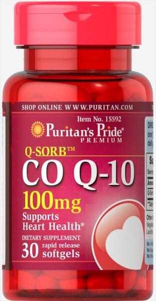 Puritan's Pride Q-SORB Co Q-10 100mg