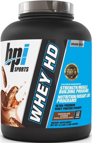BPI Sports Whey HD 1.9kg (4.2lb)