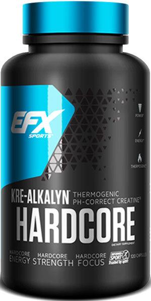 EFX Kre-Alkalyn Hardcore - 120 капсули