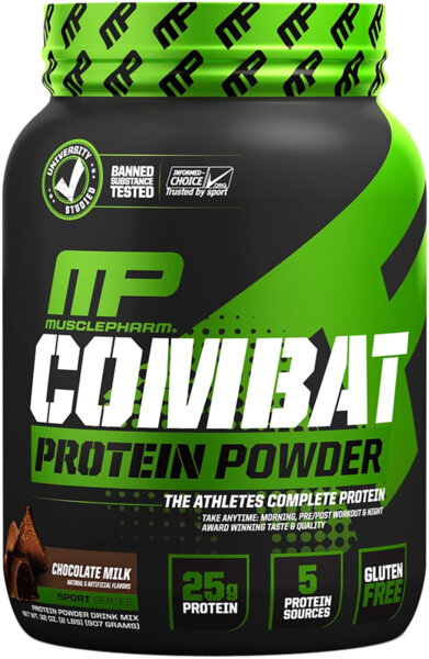MusclePharm Combat Protein Powder 907g (2lb)