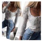 Блуза мрамор