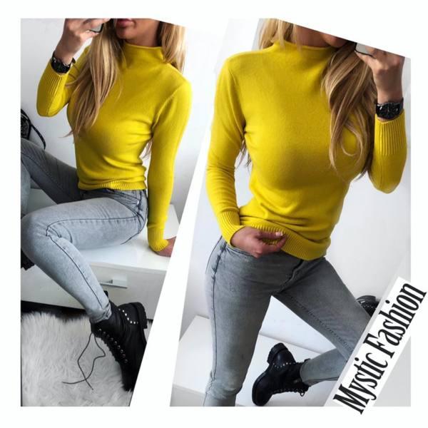 Жълто полуполо