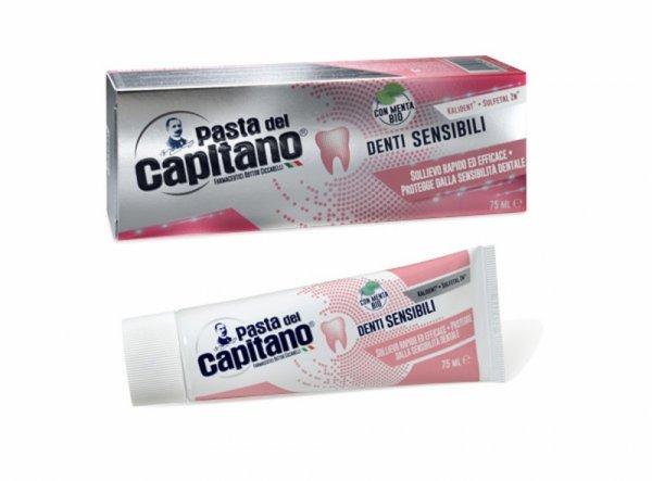 Pasta Del Capitano Паста за зъби за чувствителни зъби 75мл