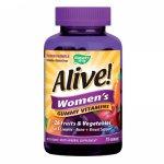 Мултивитамини за Жени ALIVE! желирани x75
