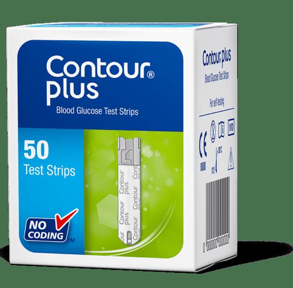 Тест ленти Contour Plus 50 броя (Контур Плюс)