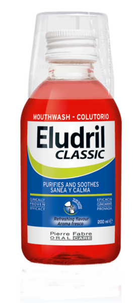 Елудрил (Eludril) Classic концентрирана вода за уста