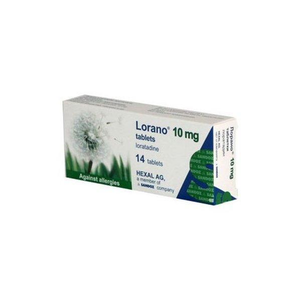 Лорано (Lorano) таблетки 10мг x14