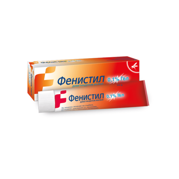 Фенистил (Fenistil) гел 0.1% 30г