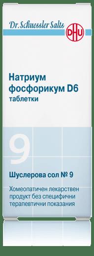 Шуслерова сол (Schuessler salt) 9 Натриум фосфорикум D12 таблетки x80