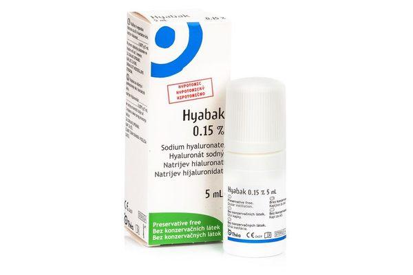 Хиабак капки за очи 0.15% 5мл (Hyabak)