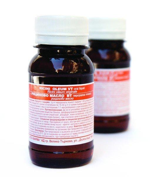 Рициново масло 40г Вета Фарма (Oleum Ricini)