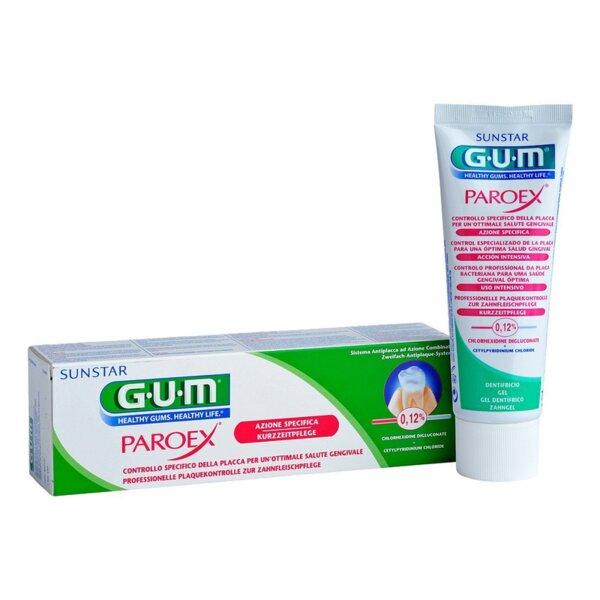 Паста за зъби Gum PAROEX 0.12% 75мл