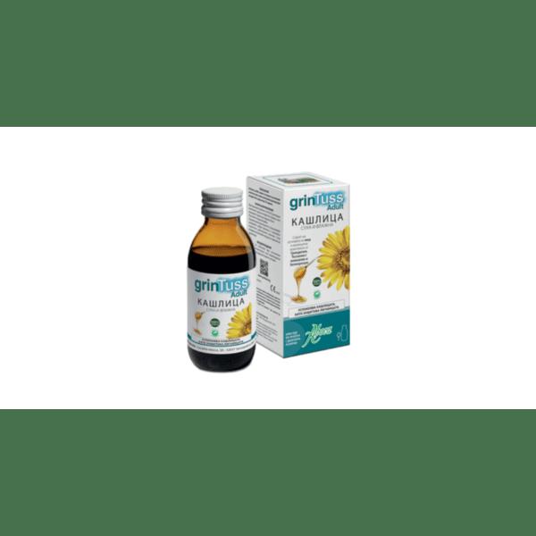 ГринТус за Възрастни сироп 180г (GrinTuss Adult)