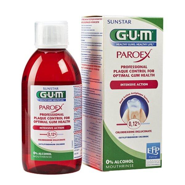 Вода за уста Gum PAROEX 0.12% 300 мл