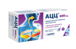 АЦЦ еф. таблетки 600мг x10 с вкус на малина (ACC 600)