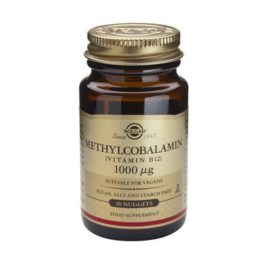 Витамин Б-12 Метилкобаламин таблетки 1000мкг x30 (Vitamin B-12 Methylcobalamin)
