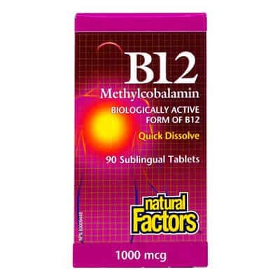 Витамин Б12 Метилкобаламин таблетки 1000мкг x30 NF (Vitamin B12 Methylcobalamin)