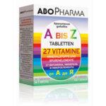 Мултивитамини A-Z АбоФарма таблетки x30