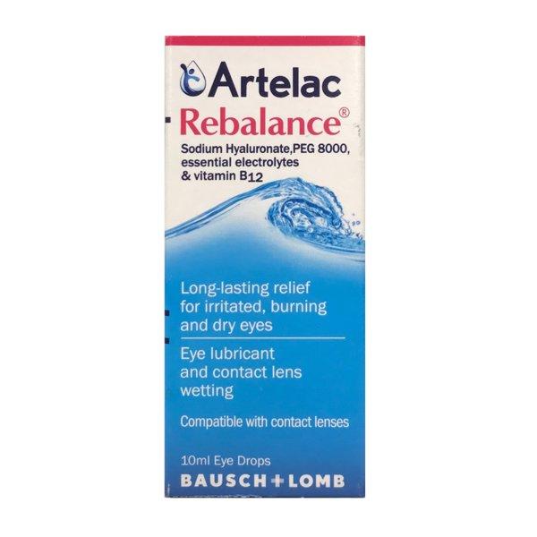 Артелак Ребаланс (Artelac Rebalance) капки за очи 10мл