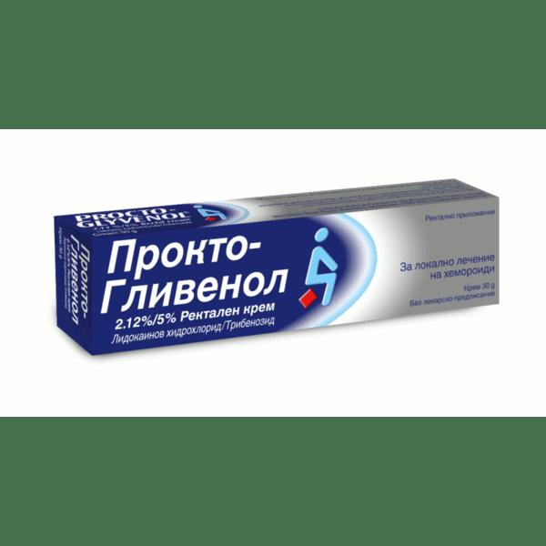 Прокто-Гливенол (Procto-Glyvenol) крем 30г