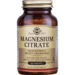 Солгар Магнезиев цитрат 200мг x60 (Solgar Magnesium Citrate)