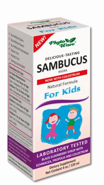 Самбукус Нигра (Sambucus Nigra) за деца сироп 120мл