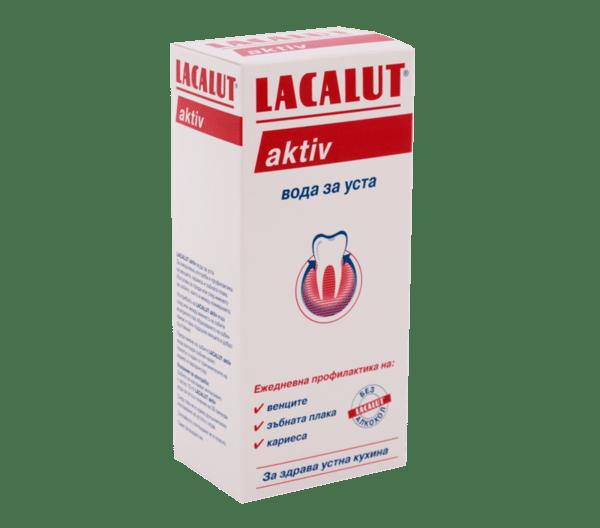 Лакалут Актив (Lacalun Aktiv) вода за уста 300мл