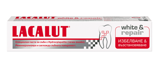 Паста за зъби Лакалут (Lacalut) White&Repair 75мл