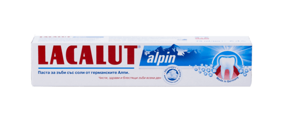 Паста за зъби Лакалут Алпин (Lacalut Alpin) 75мл