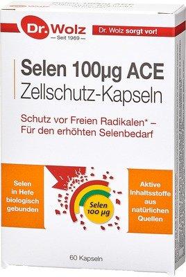 Dr. Wolz Селен 100 μg АСЕ капсули x20