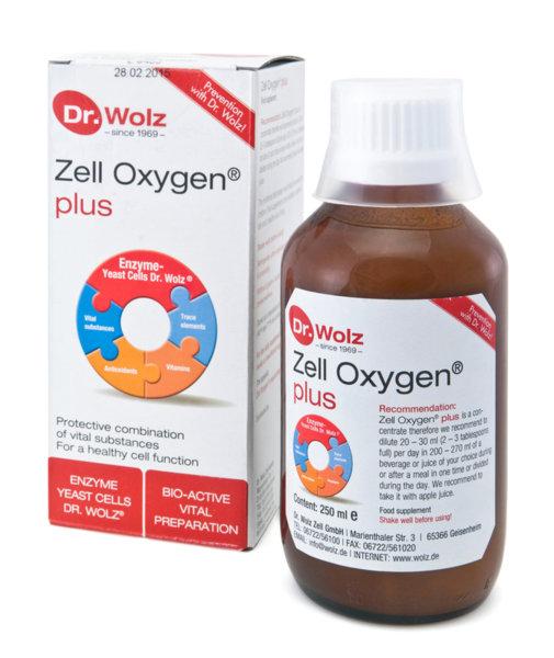 Dr. Wolz Цел Оксиджен Плюс (Zell Oxygen® Plus) сироп 250мл