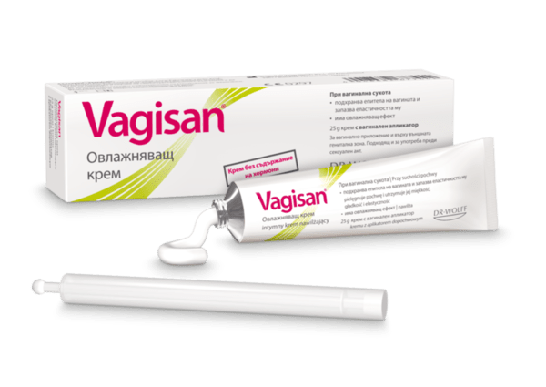 Вагизан (Vagisan) Овлажняващ крем 25г